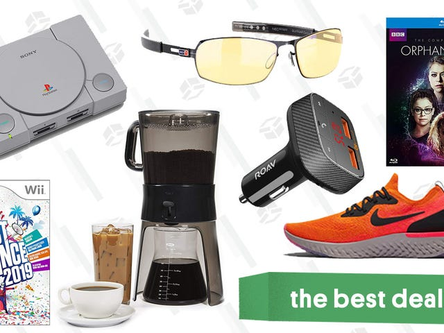 """<a href=""""https://kinjadeals.theinventory.com/sundays-best-deals-playstation-classic-gunnar-glasses-1831285235"""" data-id="""""""" onClick=""""window.ga('send', 'event', 'Permalink page click', 'Permalink page click - post header', 'standard');"""">Sunday&#39;s Best Deals: PlayStation Classic, Gunnar Glasses, Nike, and More</a>"""