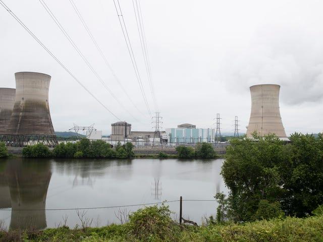 RIP Three Mile Island Nuclear Power Plant, 1974-2019
