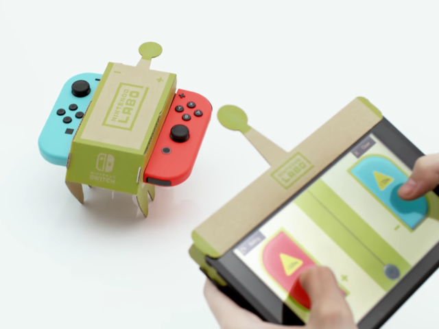 Nintendo Announces Nintendo Labo, A Wild New Experiment For Switch