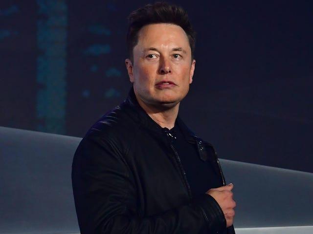 Musk for å vitne om at han ikke gjorde det, og dessuten slettet han det han gjorde