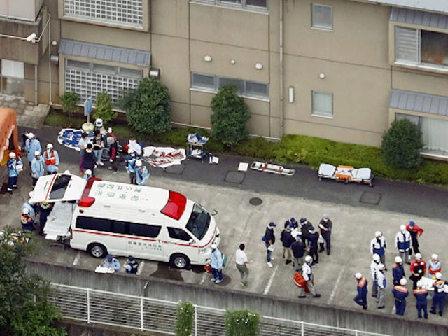 Man Attacks Facility for Disabled in Japan, At Least 19 Dead