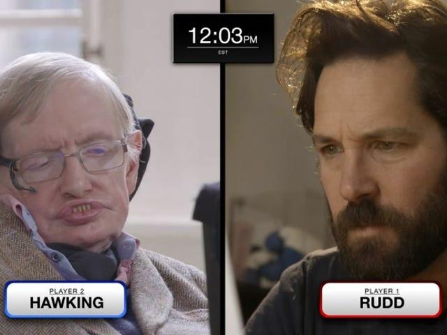 很快我们都可以加入Paul Rudd掌握量子国际象棋