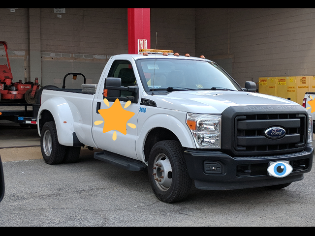 Spotted DotWS - unusual truck configuration