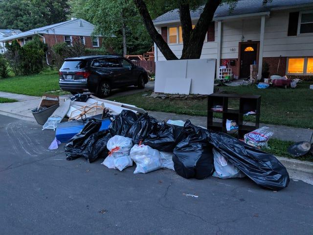 Flooded: the trashening