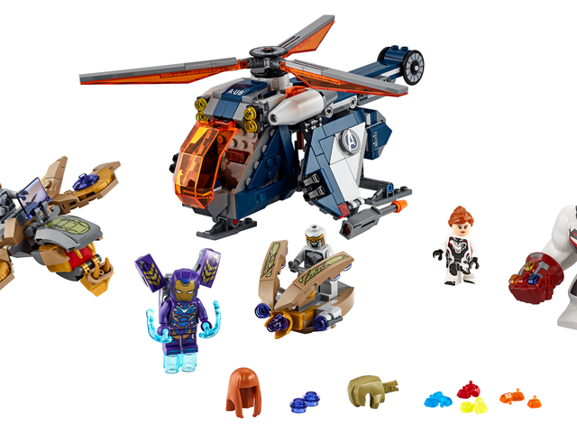 Lego's New Avengers: Endgame Set Brings a Helicopter to an Infinity Gauntlet Fight