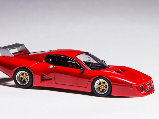 Προσαρμοσμένο 1/64 Kyosho Ferrari 512 BB LM