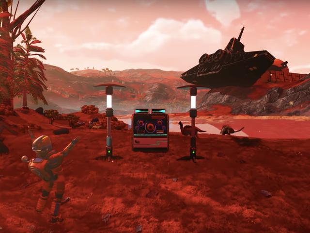 No Man's Sky ahora permite a los jugadores hacer música y es salvaje