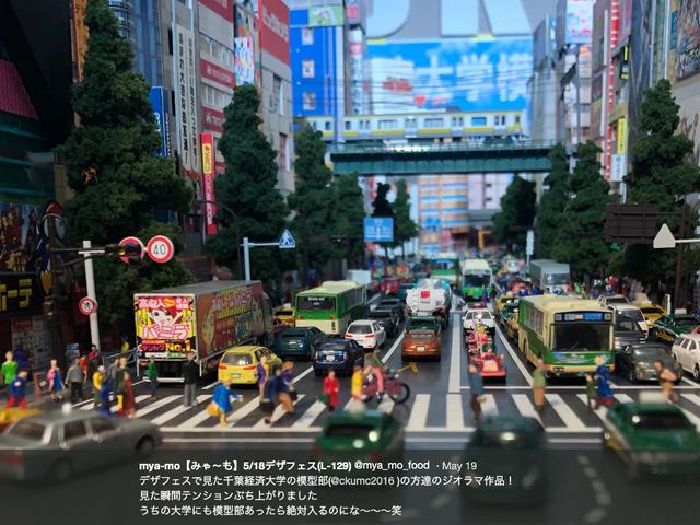 Akihabara Recreated As Realistic Miniature Diorama