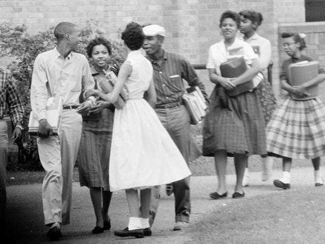 On This Day, The Little Rock Nine Started School