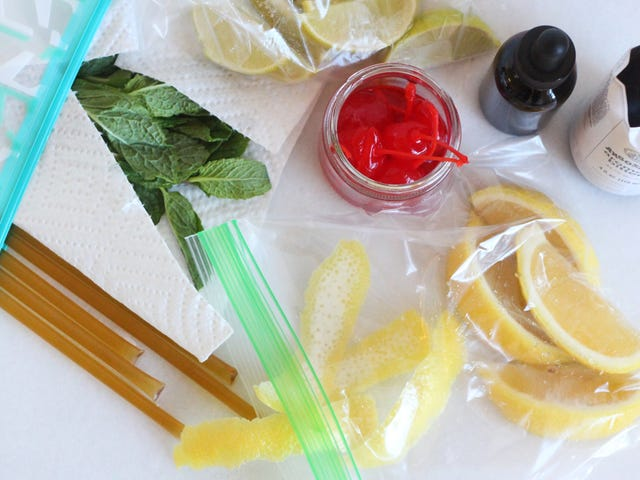 Make Your Own Carry-on Cocktail Kit for Flights
