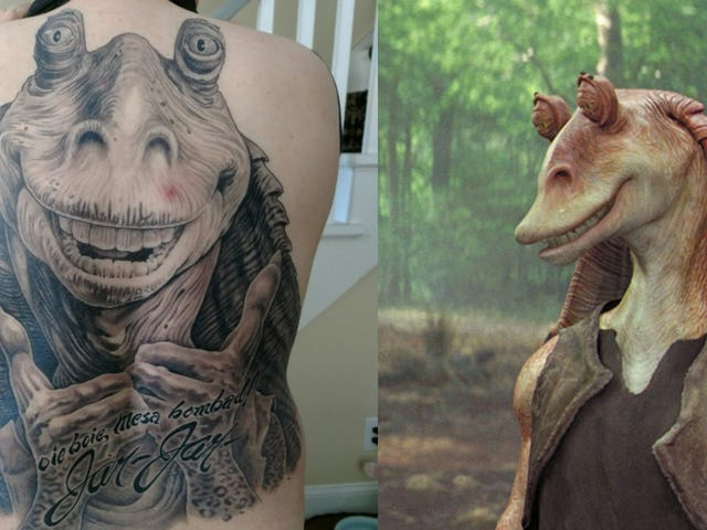 Guy With Jar Jar Binks Back Tattoo: 'I Have Had Sex Multiple Times'