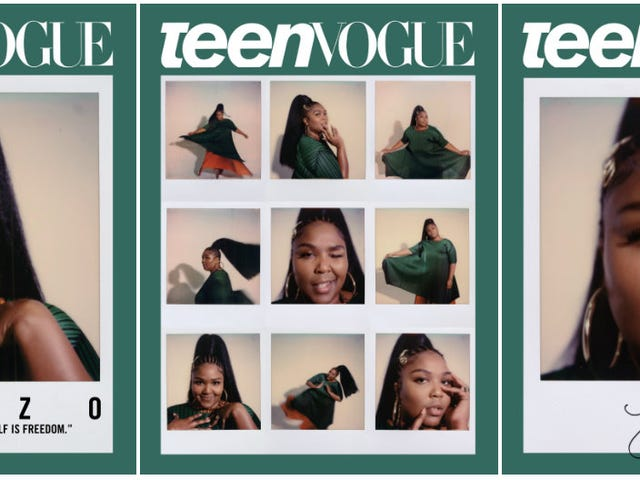 Lizzo Covers Teen Vogue and We're in Love (Again)