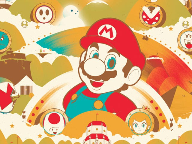 The very talented Marinko Milosevski looks back at Super Mario 64 with his latest poster