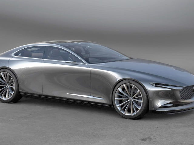 The Mazda Vision Coupe Concept Is One Of The Best Sedan Designs We've Seen In A While