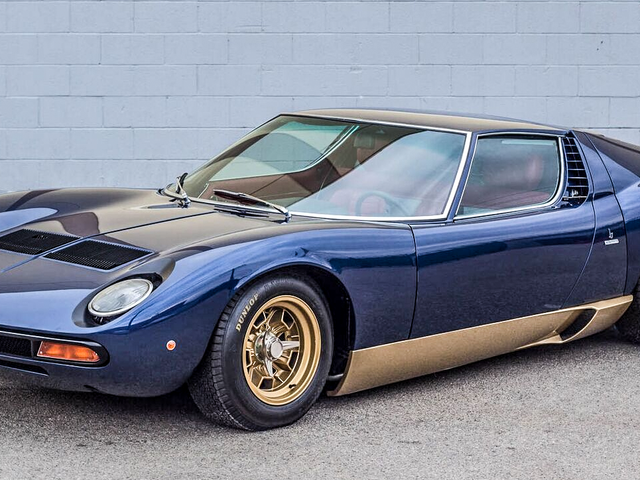 Adam Carolla's Insanely Rare Vintage Lamborghini Collection Is For Sale