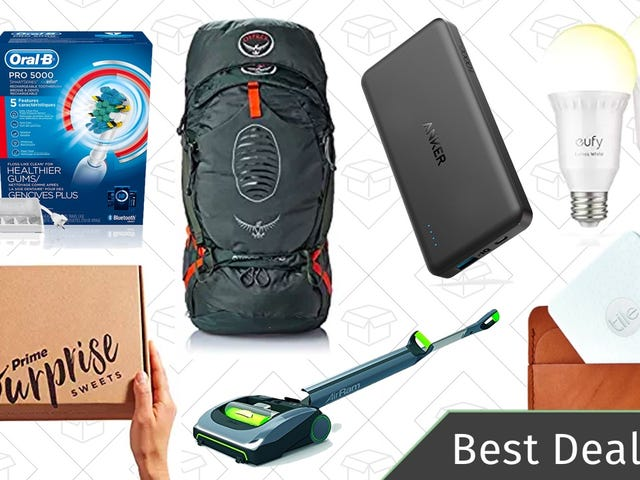 Wednesday's Best Deals: Smart Light Bulbs, Tile Slim, Oral-B Smart Toothbrush, and More