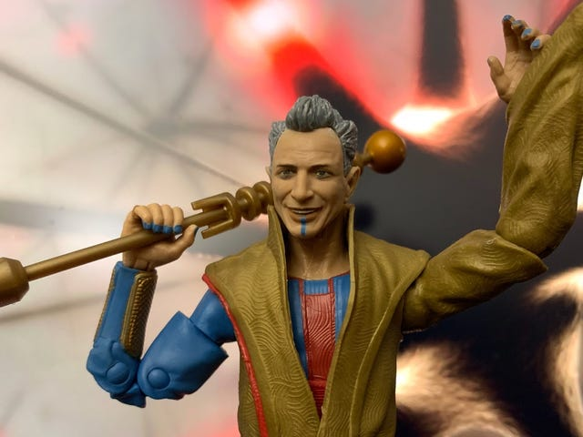Marvel's Grandmaster Figure Perfectly Captures Jeff Goldblum's Goofy Charm