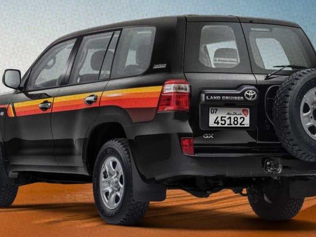 El 'Land Edition' árabe de Toyota Land Cruiser es mucho más genial que el de Estados Unidos