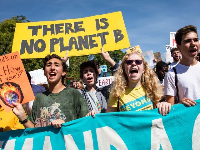 Un mémo aux Tech Titans le jour de la grève climatique: il est temps de choisir un camp