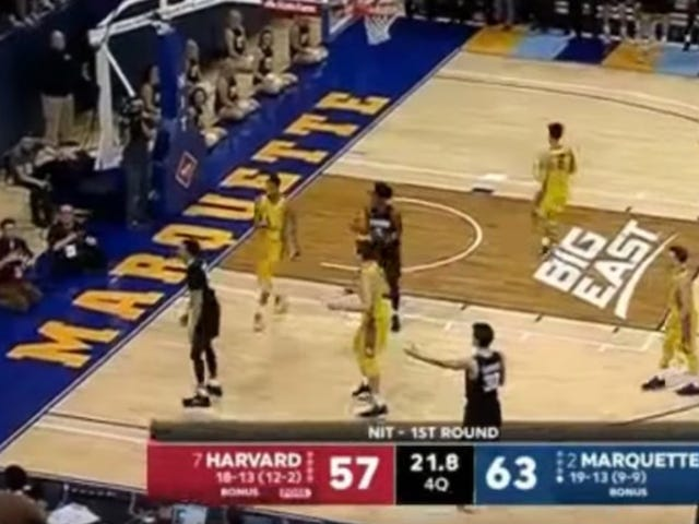 Harvard Owned By Clumsy Referee