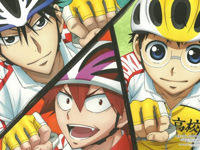 Enjoy the newest promo of the third season of Yowamushi Pedal