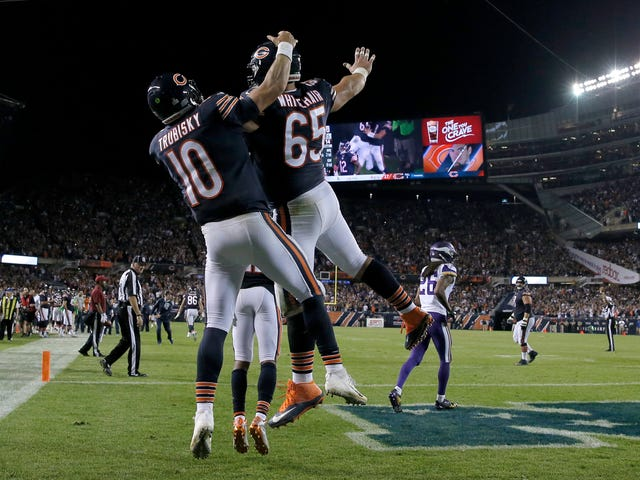 The Bears Had Been Holding Onto That Sweet Trick Play For A While