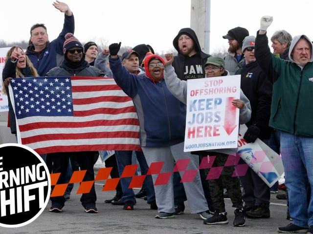 """A GM ainda não conseguiu emprego para 500 trabalhadores de fábricas """"não alocadas"""""""