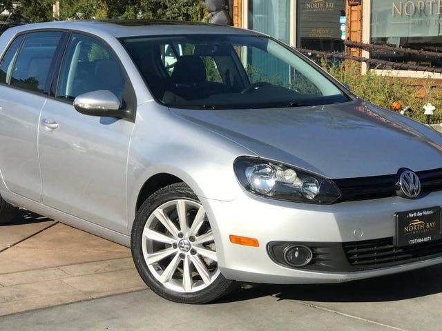 Может ли этот VW Golf TDI 2014 года принести вам 15 999 долларов, чтобы вы могли простить и забыть?