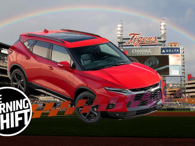 Mexico-Made Chevrolet Blazer Dipanggil 'Tampak di Wajah' di Detroit Ballpark