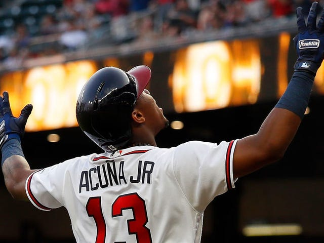 Ronald Acuña Jr. Is Donging His Way Into The Record Books