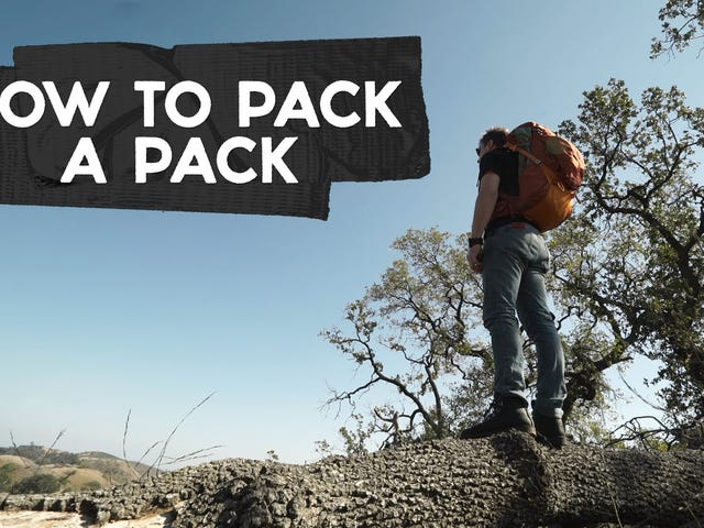 Cómo empacar una mochila, de la manera correcta