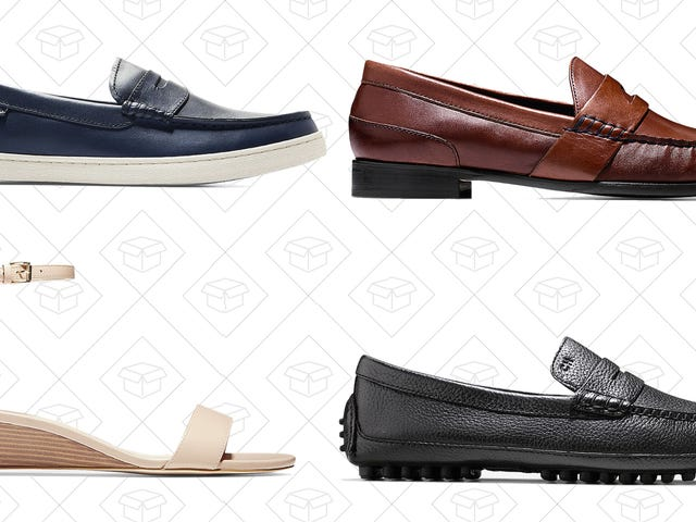 Grab Up to 70% Off Over A Dozen Cole Haan Shoes