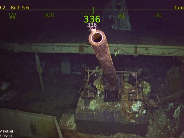 Famed WW2 Aircraft Carrier Torpedoed in 1942 Found Miles Deep in Pacific Ocean