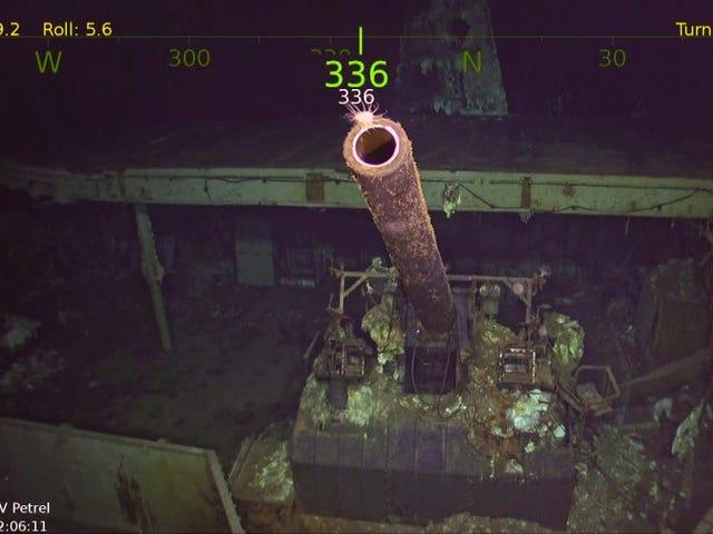 Famed WW2 Aircraft Carrier Torpedoed i 1942 Fant Miles Deep i Stillehavet