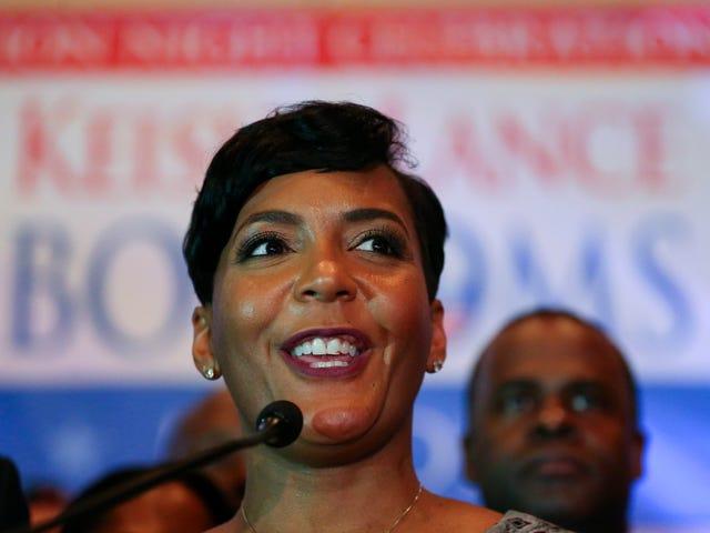 Minęło 100 dni, a Atlanta nadal ma burmistrza zwanego Keishą