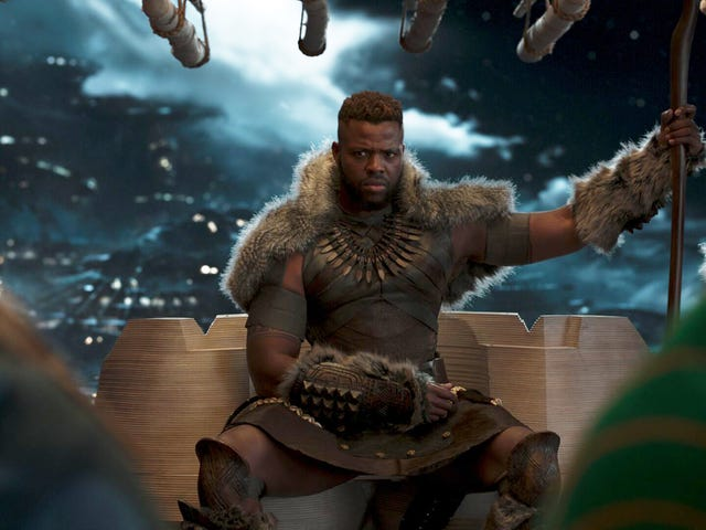 This Black Panther Clip Reveals One of M'Baku's Best Moments Was Improvised