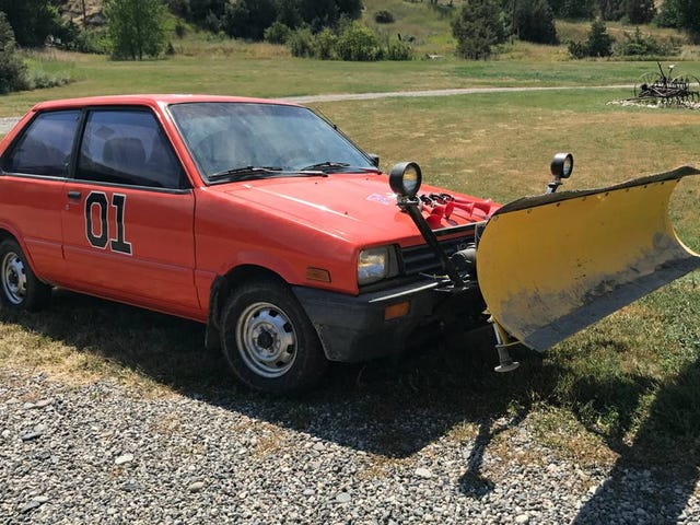 For $2,950, Would This 1988 Subaru Justy 4X4 Plow Have You Laughing At The Snow?