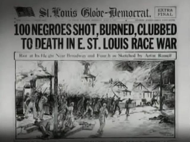 #NeverForget:100年前、イースト・セントルイスは火事だった