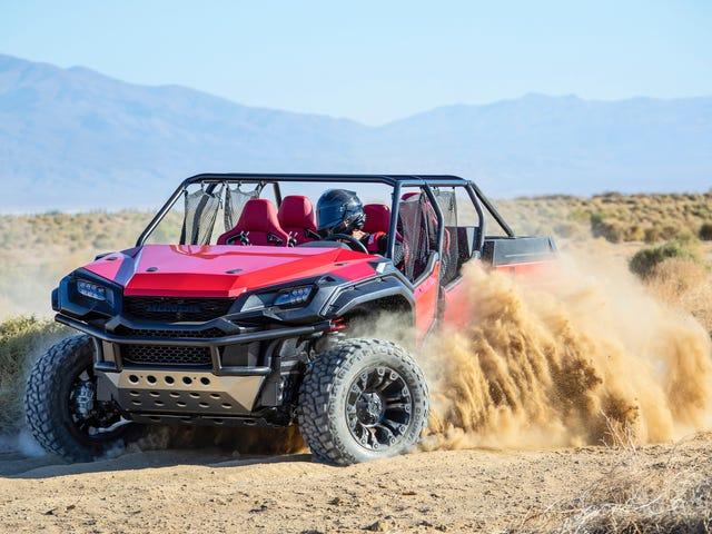 Cette Honda Ridgeline Dune Buggy prouve que la Ridgeline est plus hardcore que vous ne le pensez