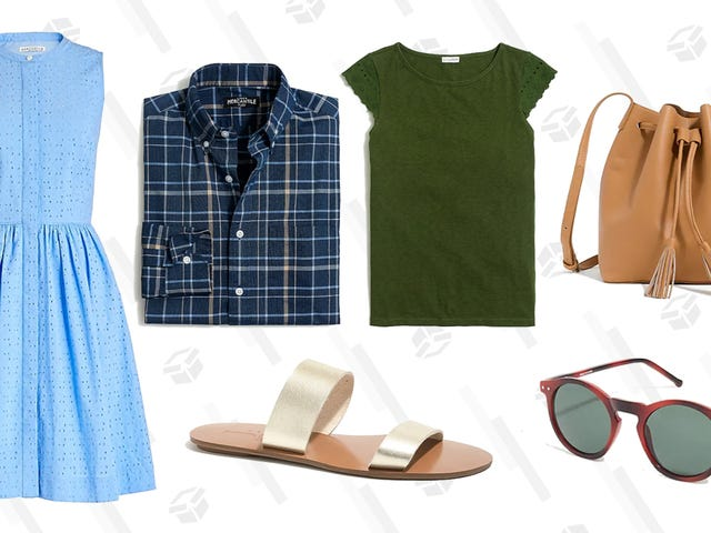 J.Crew Factory Is Taking 40% to 60% Off Men's and Women's Styles, Plus an Extra 50% Off Clearance