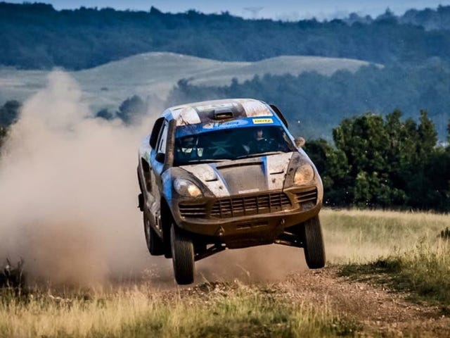 This High-Flying Porsche Macan Race Truck Exists And Now All Is Right With The World