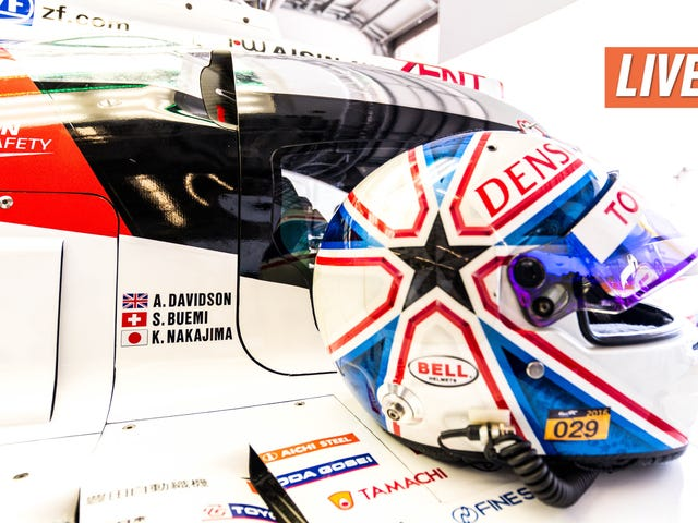 Ask No. 5 Toyota Le Mans Prototype Driver Anthony Davidson Anything You Want