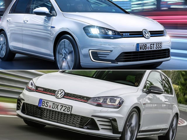 Which Comes First: An Electric-OnlyVolkswagen Golf or a 300 HP GTI?