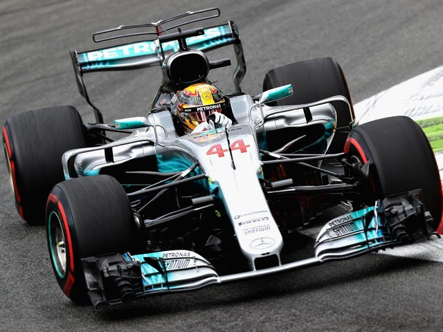 Monza Formula One Winner Lewis Hamilton Booed For Not Driving Isang Ferrari