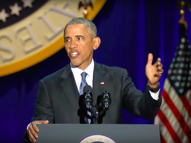 Watch President Obama's Farewell Speech Live From Chicago