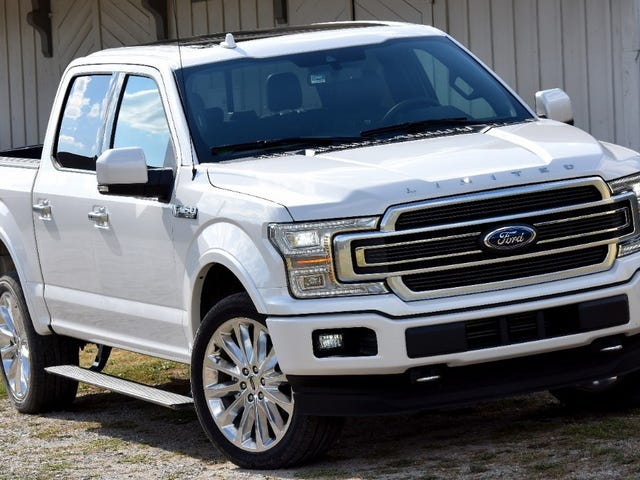 Elektrisk Ford F-150 Spied With Fake Exhaust (oppdatert med bilder og video)