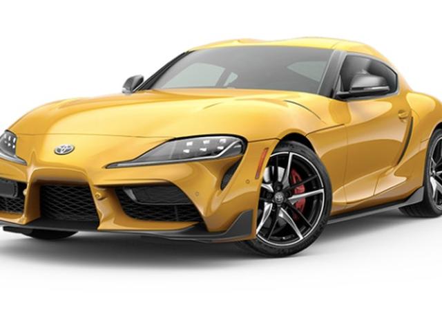 2020 Toyota Supra kommer faktisk i noen få fargede farger