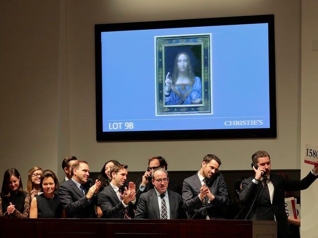 Da Vinci aplasta en Picasso: Salvador Mundi er en af de mest kendte, og de fleste af dem er meget forskellige.
