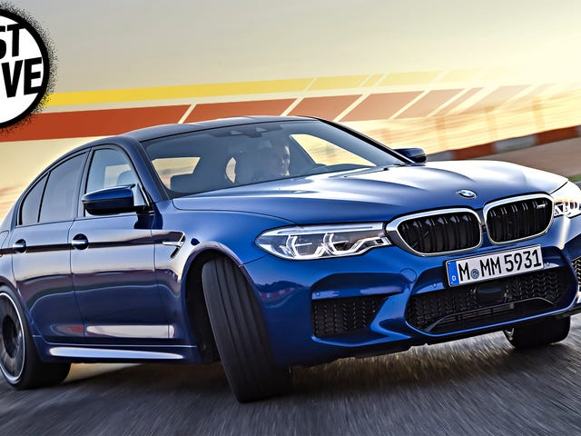 2018 BMW M5 Makes Peace In The War Between RWD And AWD