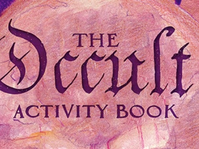 Attention, Artistic Creatures of the Night: You Need a Copy ofThe Occult Activity Book